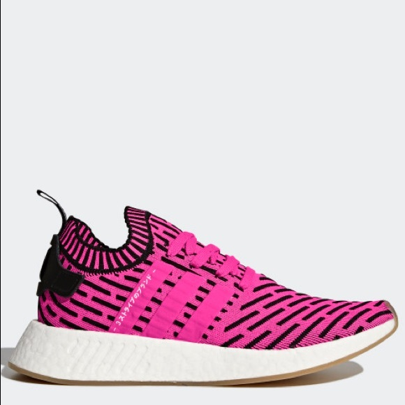 40483248b4614 NO OFFERS Adidas NMD R2 Pink Shock men 11 BY9697